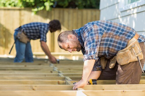 carpentry services in land o